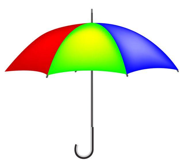 Colorful Umbrella Free Vector Graphics Vector Download