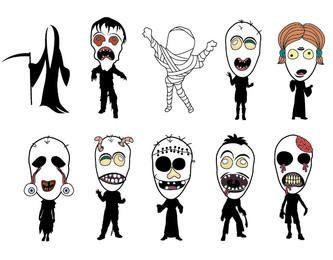 Halloween Monsters Bundle