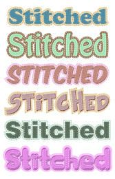 Stitched Graphic Styles