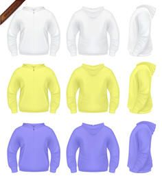 Mens Sweater with Hoodie