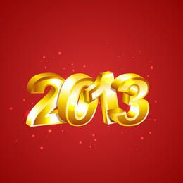 Vector New Year 2013