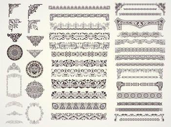 Decorative Vector Ornaments