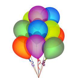 Vector Birthday Balloons