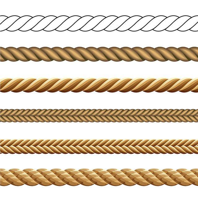 Vector Rope Set - Vector download