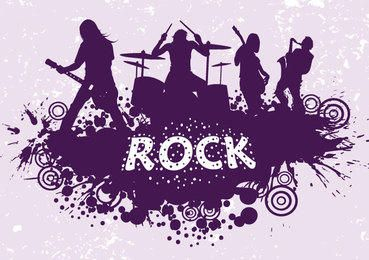 Rock Band Silhouette