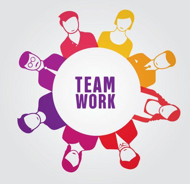 Teamwork People Circle - Vector download