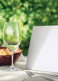 Restaurante folleto Plantilla PSD