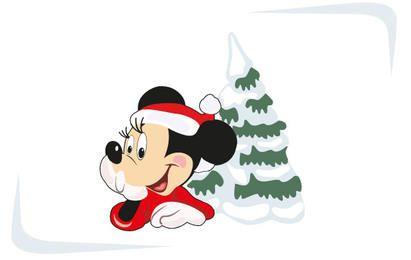 Natal com Mickey Mouse