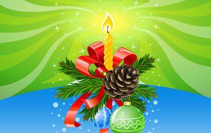 Composición de navidad