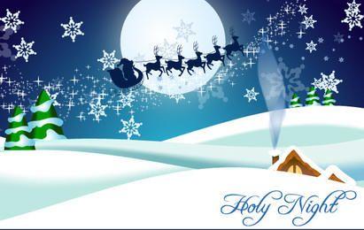 Christmas Time Free vector