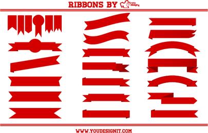 Conjunto de la cinta roja