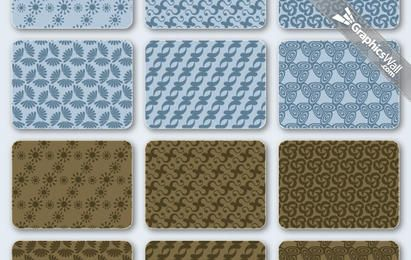 Free Vector Patterns Set 03