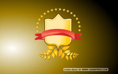 Golden Vector Shield