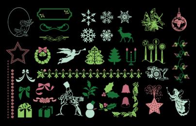 Christmas Design Element Pack