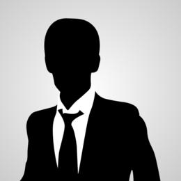 Vector de avatar de hombre de negocios