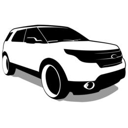 Vector de Ford Explorer