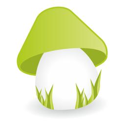 Vetor de cogumelo
