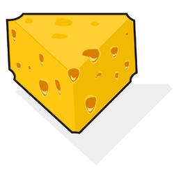 Vetor de queijo suíço