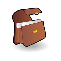 Abrir el icono de maletín