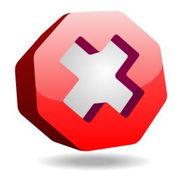Stop-Schild-Symbol