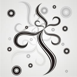 Circles and swirls