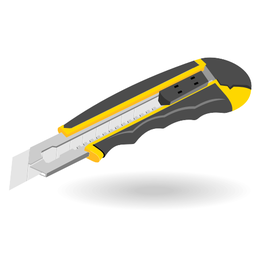 Office knife vector