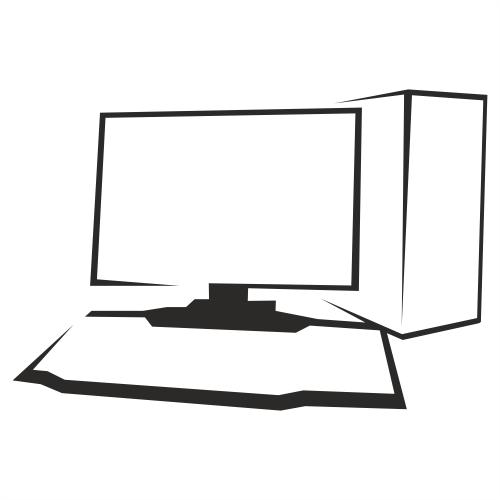 outlined black white desktop pc vector download. Black Bedroom Furniture Sets. Home Design Ideas