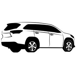 Bosquejo de Toyota Highlander