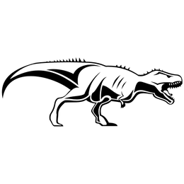 Tyrannosaurus rex dinossauro Esboço