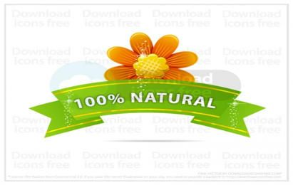 Nature vector flower sign free