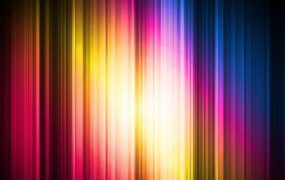 Luzes coloridas de fundo vector