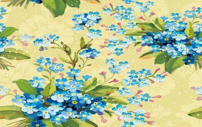 Fundo de flores florais