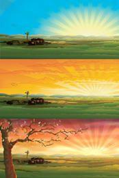 Hermosos paisajes de campo 3