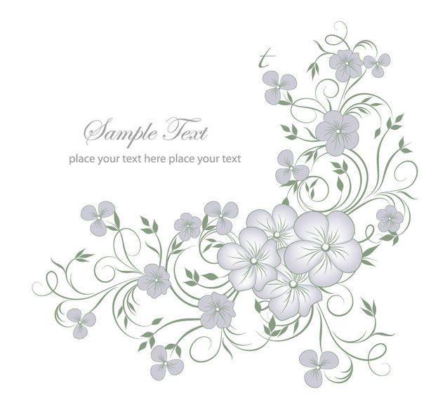 Elegant Full Blossom Flourish Greeting Card