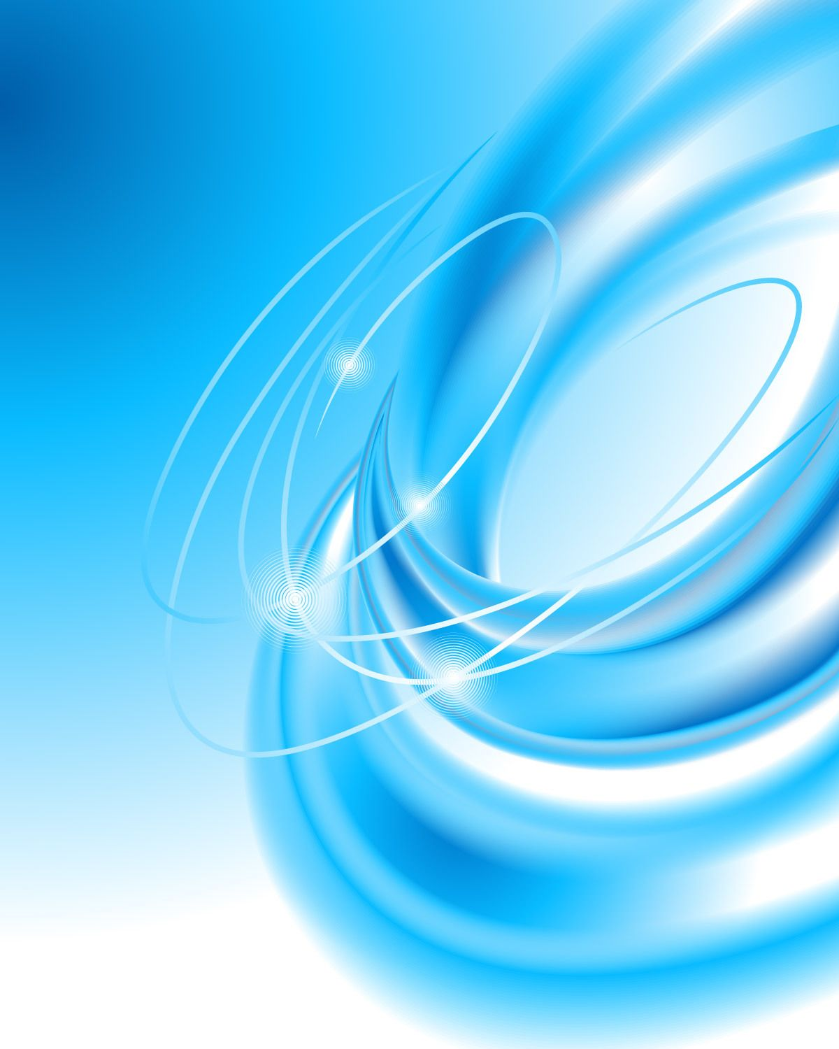 Creative Blue Vortex Spin Blended Background