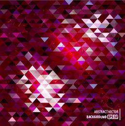 Textura poligonal triangular escura e clara