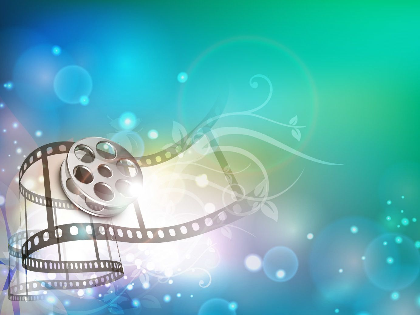 Creative 3d Film Strip Background Vector Download