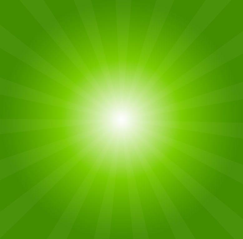 green sunburst background - photo #12