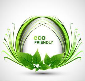 Banner Floral Decorativo Ecológico