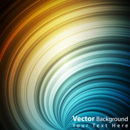 Rainbow Vortex Lines Background