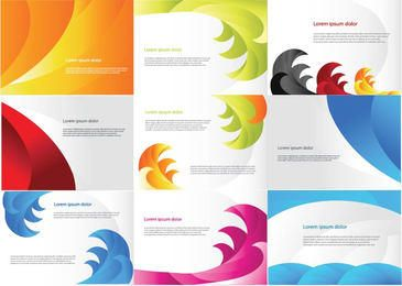 Colorful Business Card Pack Template