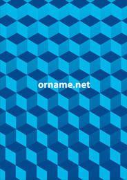 Cubic Geometrical Pseudo Pattern