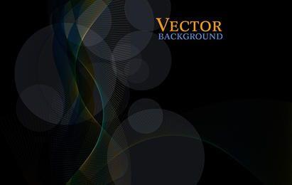 Free Dark Abstract Vector Background - Tapeyman