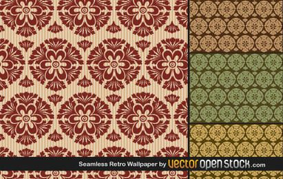 Seamless Retro Wallpaper