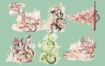 Vector Swirl Flower
