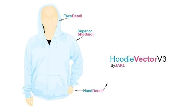 Hoodie Template PSD Download