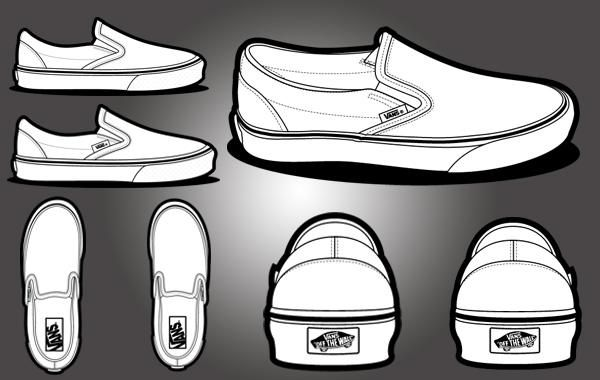 Black Vans Shoe Polish