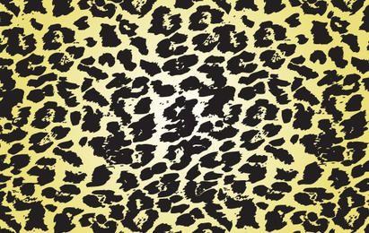Leopard Splatter-Vektor