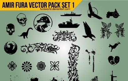 Paquete de objetos vectoriales