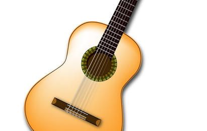 Spanish Guitar Vector
